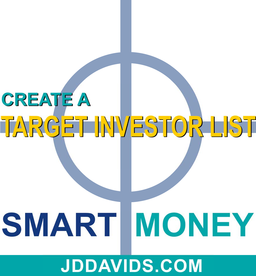 Create a Target Investor List to Quickly Raise Smart Money
