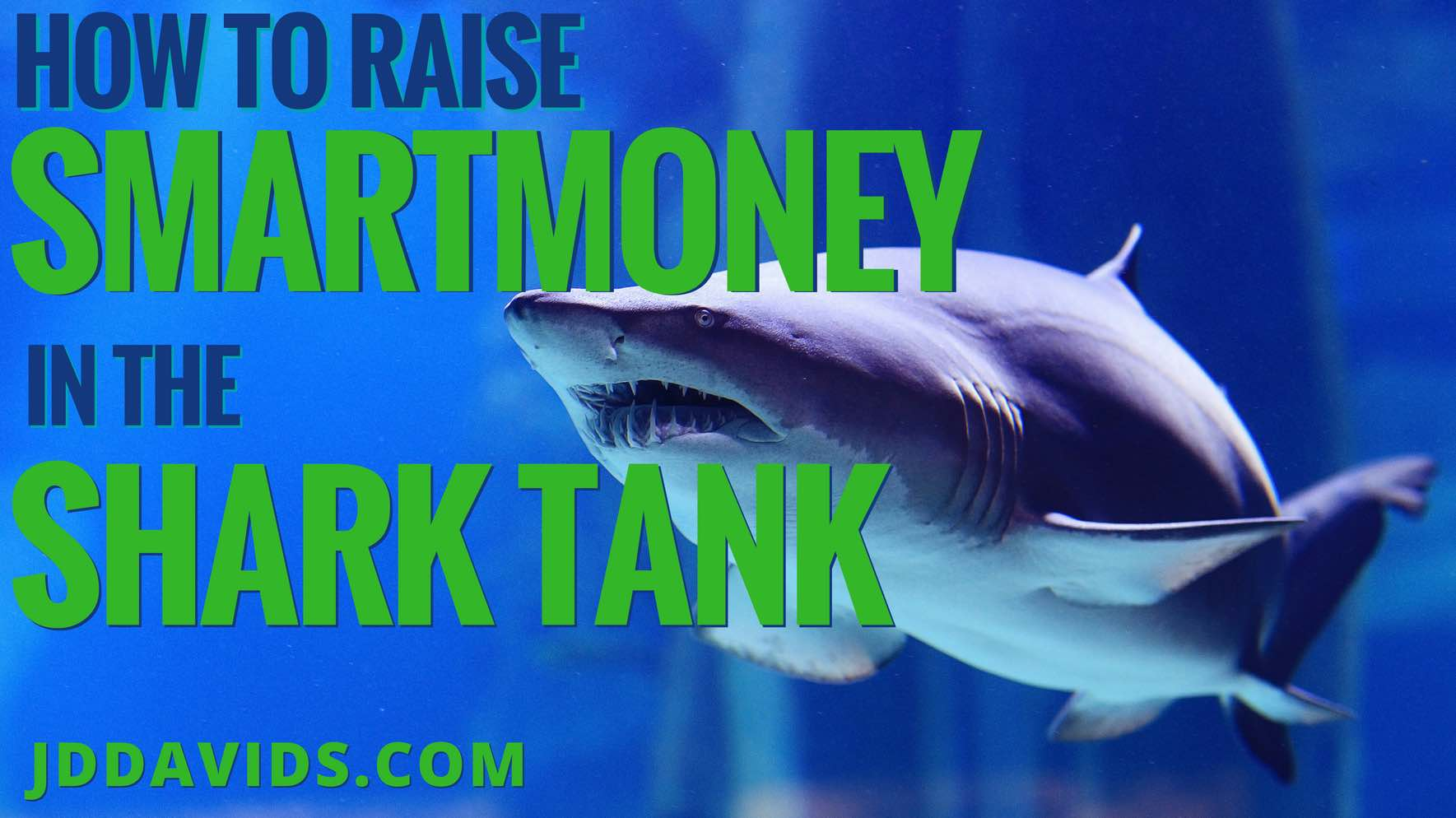 "How to Raise ""SmartMoney"" in the Shark Tank"