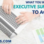What You Want Your Executive Summary to Achieve