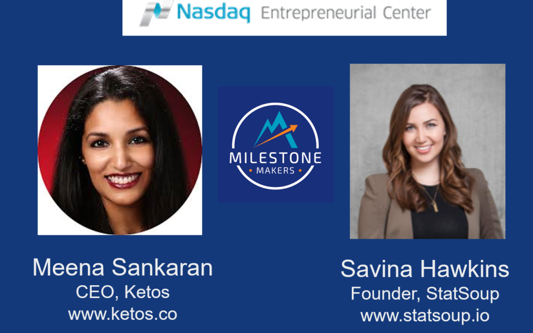 Congratulations to SMS Alumni graduating from the NASDAQ Milestone Maker Program!